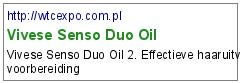 Vivese Senso Duo Oil